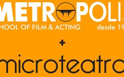 Metrópolis colabora con Microteatro