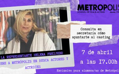 La representante Helena Freijedo busca caras nuevas